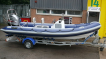 XS 585 Commercial Leisure Rib Craft Package New Mercury Yamaha