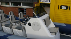 XS Ribs Package Leisure Commercial Package Console Windscreen Boat